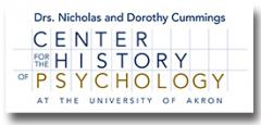 Center for the History of Psychology logo